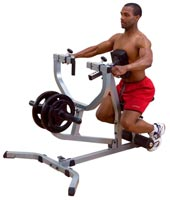 Poste dos et lombaires Bodysolid Seated row machine