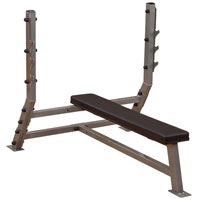 Banc de musculation Banc developpé couché olympique Bodysolid Club Line - Fitnessboutique