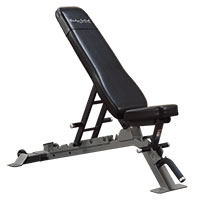 Banc de musculation Banc plat incliné décliné Pro Bodysolid Club Line - Fitnessboutique