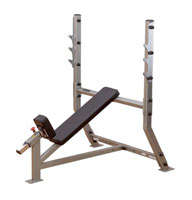 Banc de musculation Bodysolid Club Line Banc developpé incliné olympique