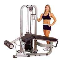 Poste Cuisses et Mollets Leg Curl Machine Bodysolid Club Line - Fitnessboutique