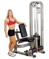 Poste Cuisses et Mollets Leg Extension Machine Bodysolid Club Line - Fitnessboutique