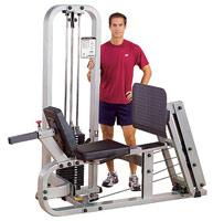 Poste cuisses et mollets Bodysolid Club Line Leg Press Machine Presse à Cuisses Horizontale