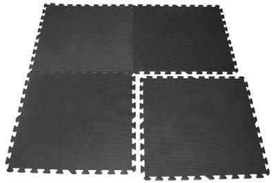 protections de sol bodysolid dalles de protection haute densit 4 dalles noir 4 dalles. Black Bedroom Furniture Sets. Home Design Ideas