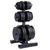 Support de rangement Olympic Weight Tree & BarHolder Bodysolid - Fitnessboutique
