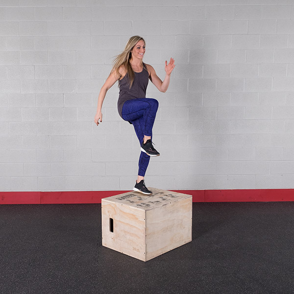Bodysolid Plyo Box Bois