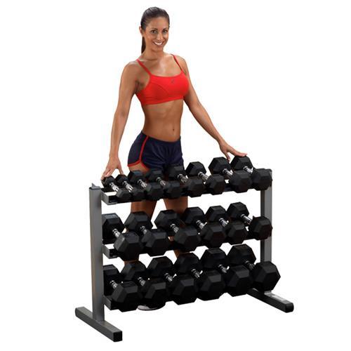 Support et Rack de Rangement Bodysolid Rack à haltères