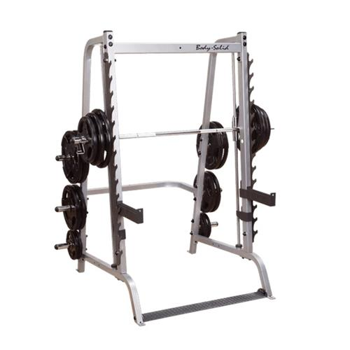 Smith Machine Machine Smith série 7 base Bodysolid - Fitnessboutique