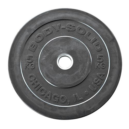 Disque Olympique - Diamètre 51mm Bodysolid Chicago Extreme Bumper