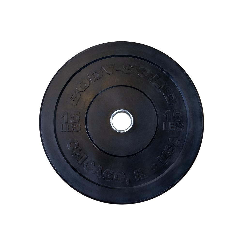 Bodysolid Chicago Olympic Bumper Plate 10 kg