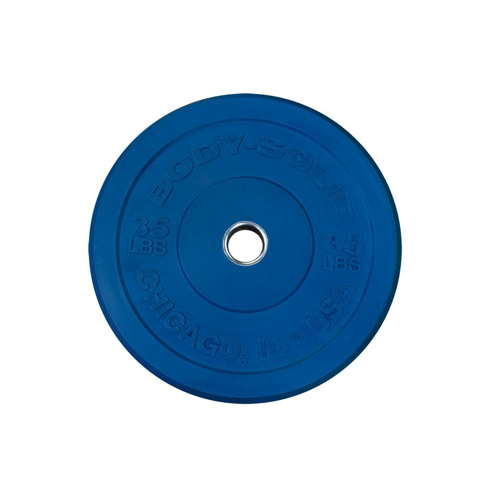Bodysolid Chicago Olympic Bumper Plate 20 kg