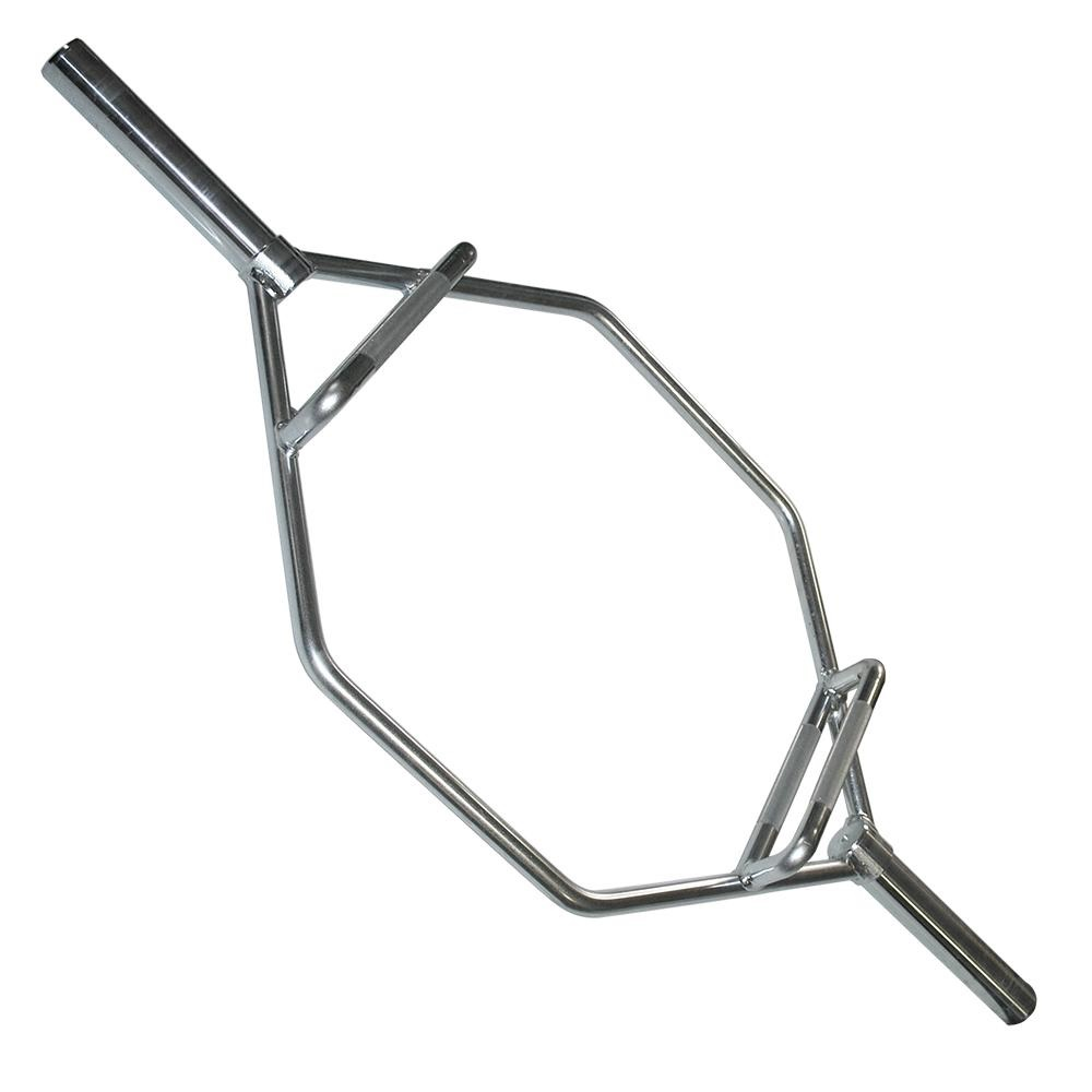 Bodysolid Olympic Shrug Bar with raised handles