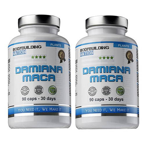 BodyBuilding Nation Pack Damiana Maca