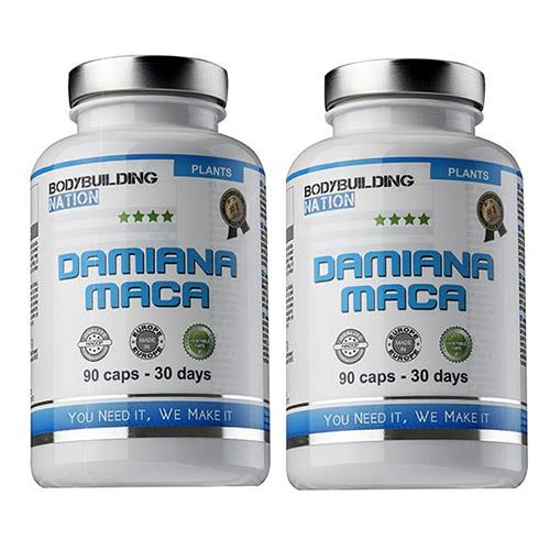 Complements Energetiques BodyBuilding Nation Pack Damiana Maca