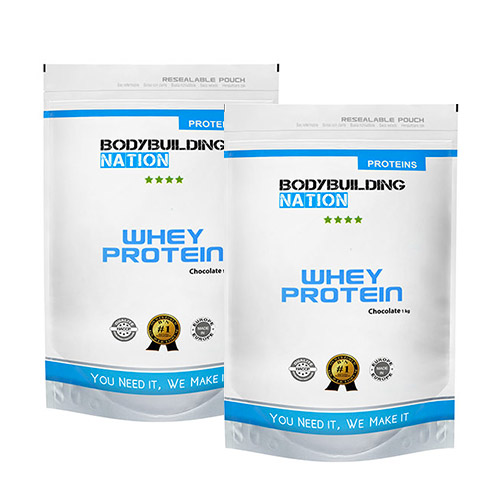 Protéines BodyBuilding Nation Pack Whey Protein