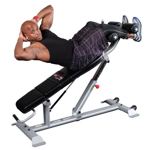 Bancs multi positions Bodysolid Club Line Ab Bench