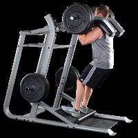 Poste Cuisses et Mollets Leverage Squat Bodysolid Club Line - Fitnessboutique