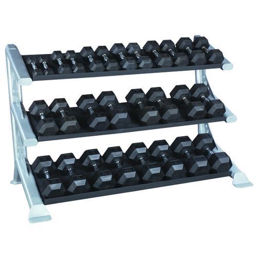 Support et Rack de Rangement Bodysolid Râtelier de stockage modulaire pour Haltères