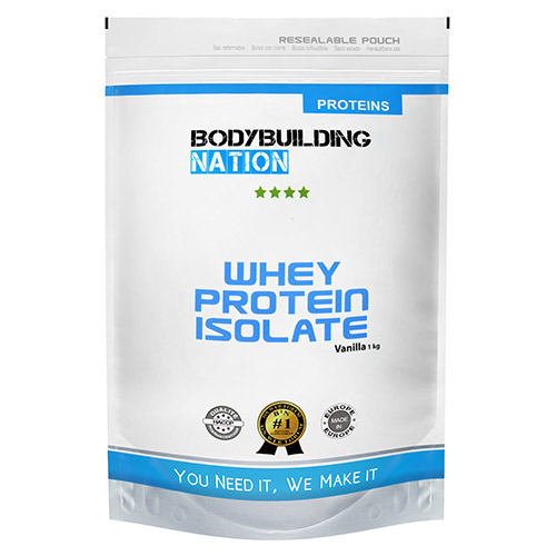 Protéines BodyBuilding Nation Whey Protein Isolate