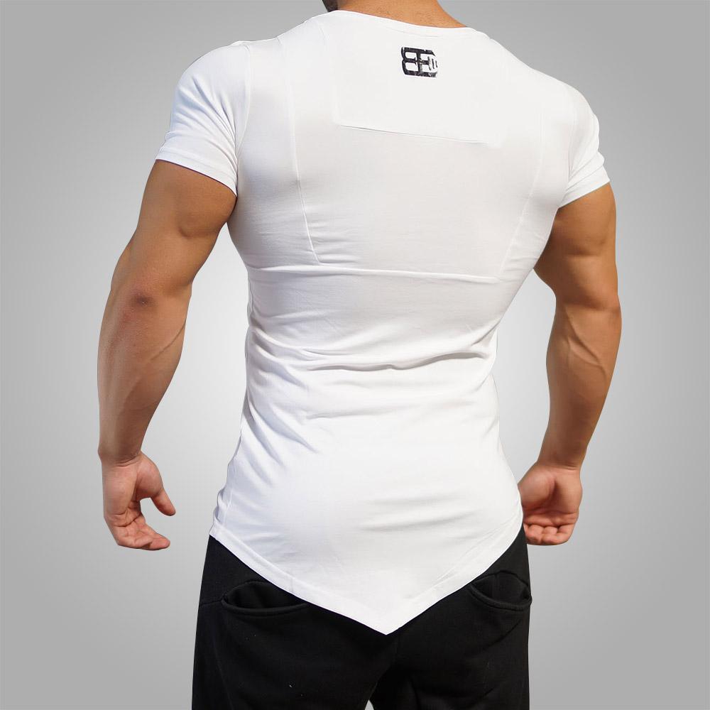 Body Engineers Yurei Asymmetric V Neck