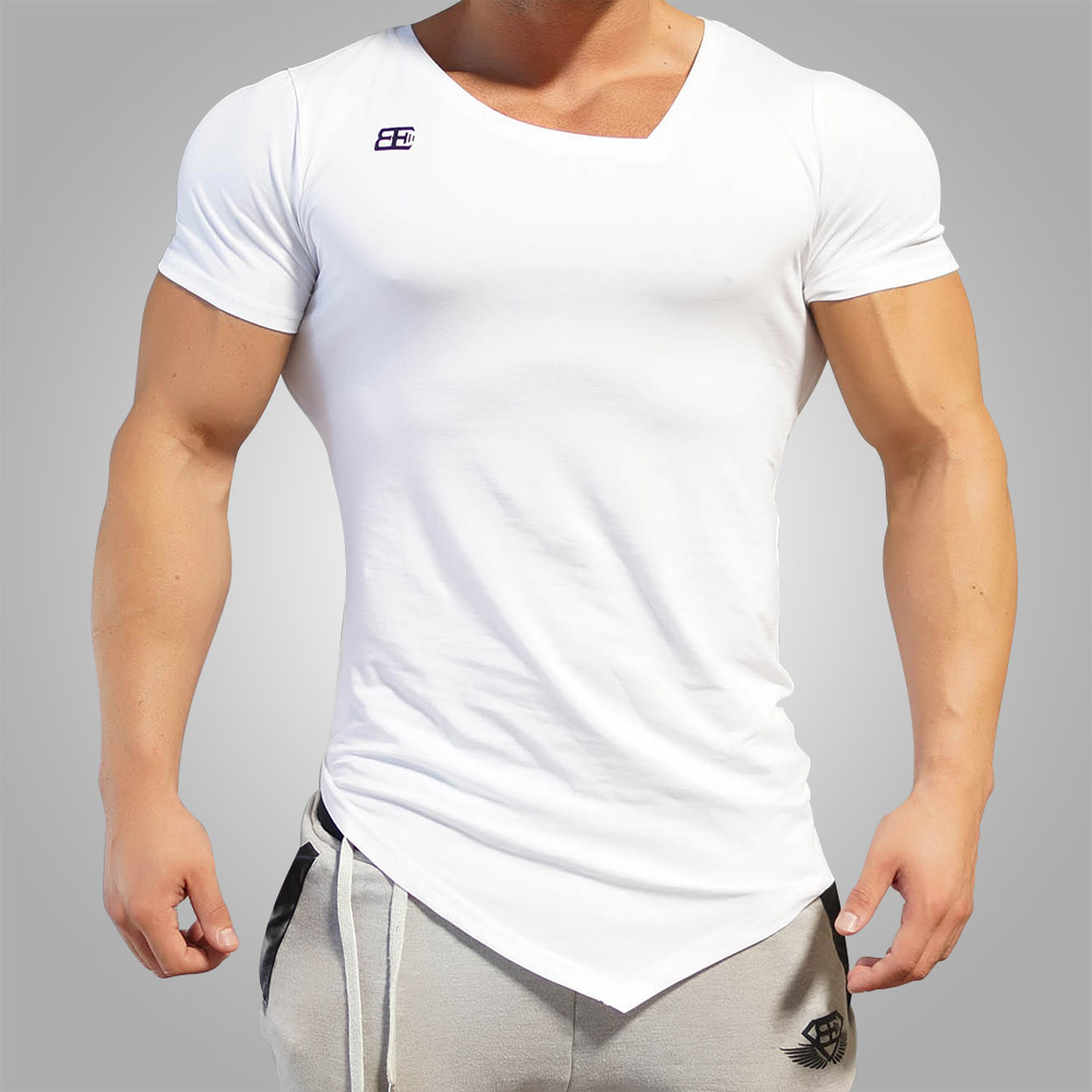 Body Engineers Yurei Asymmetric V Neck