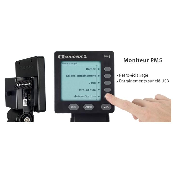 Concept2 Modèle D avec écran PM5