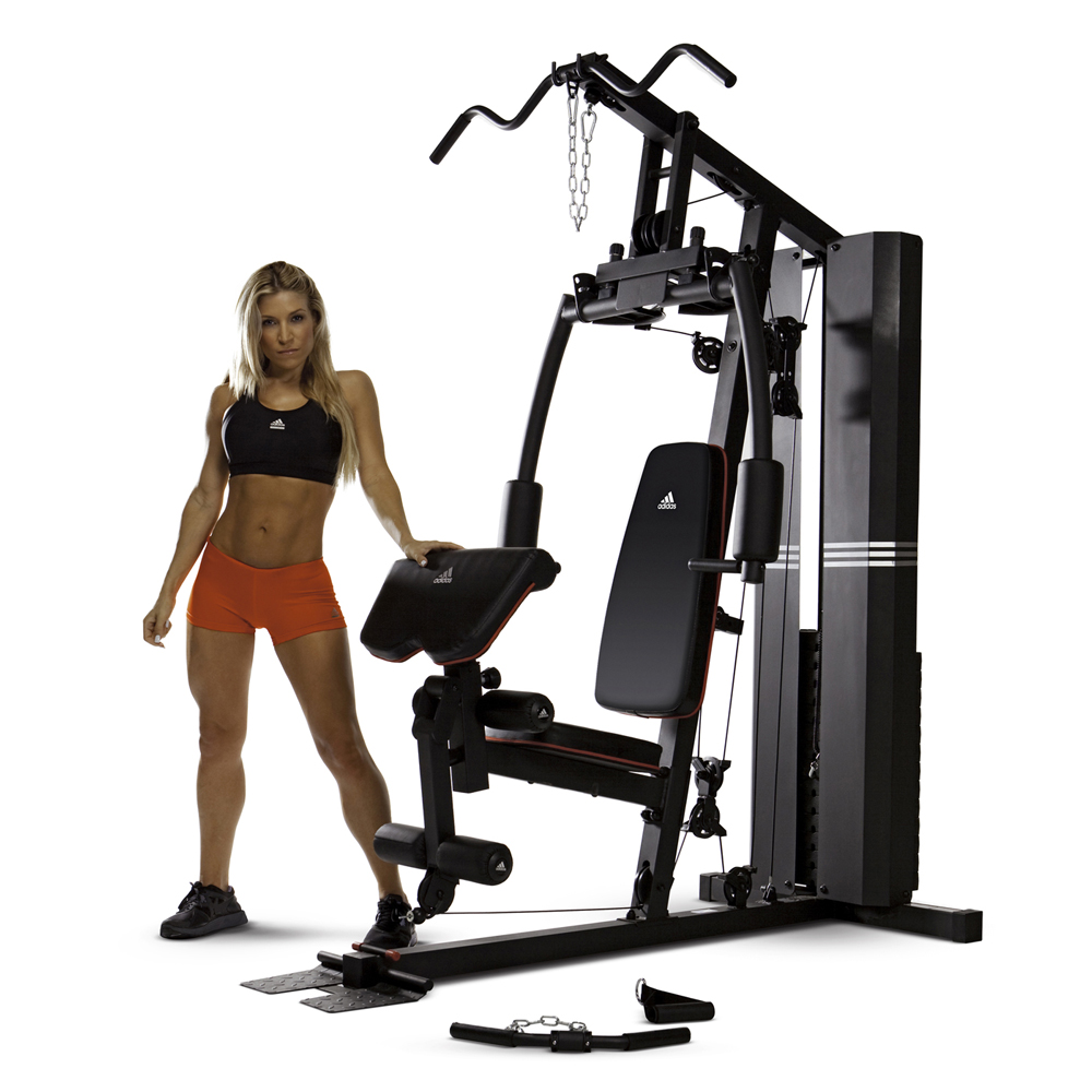 appareil de musculation adidas home gym. Black Bedroom Furniture Sets. Home Design Ideas