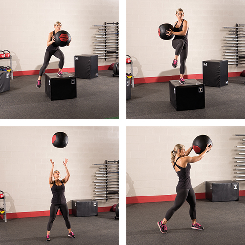 Détails Bodysolid Wall Ball