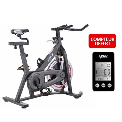 Fitness boutique tapis de course velo elliptique velo d 39 appartement - Compteur velo elliptique ...