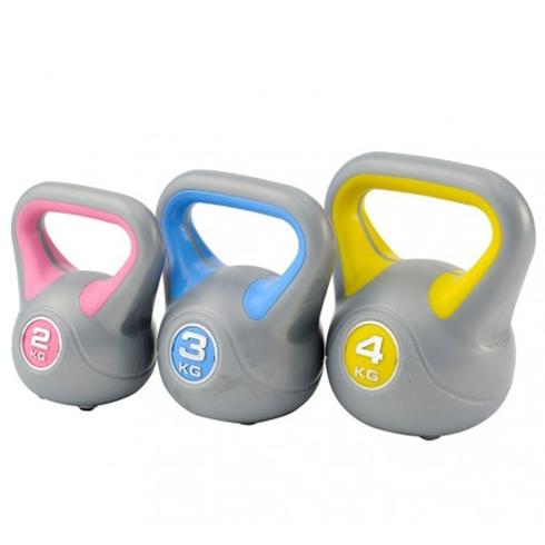 DKN Kettlebell SET 2,3, 4 kg
