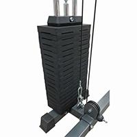 Support de rangement DKN Colonne de Poids 100 kg option Power Rack
