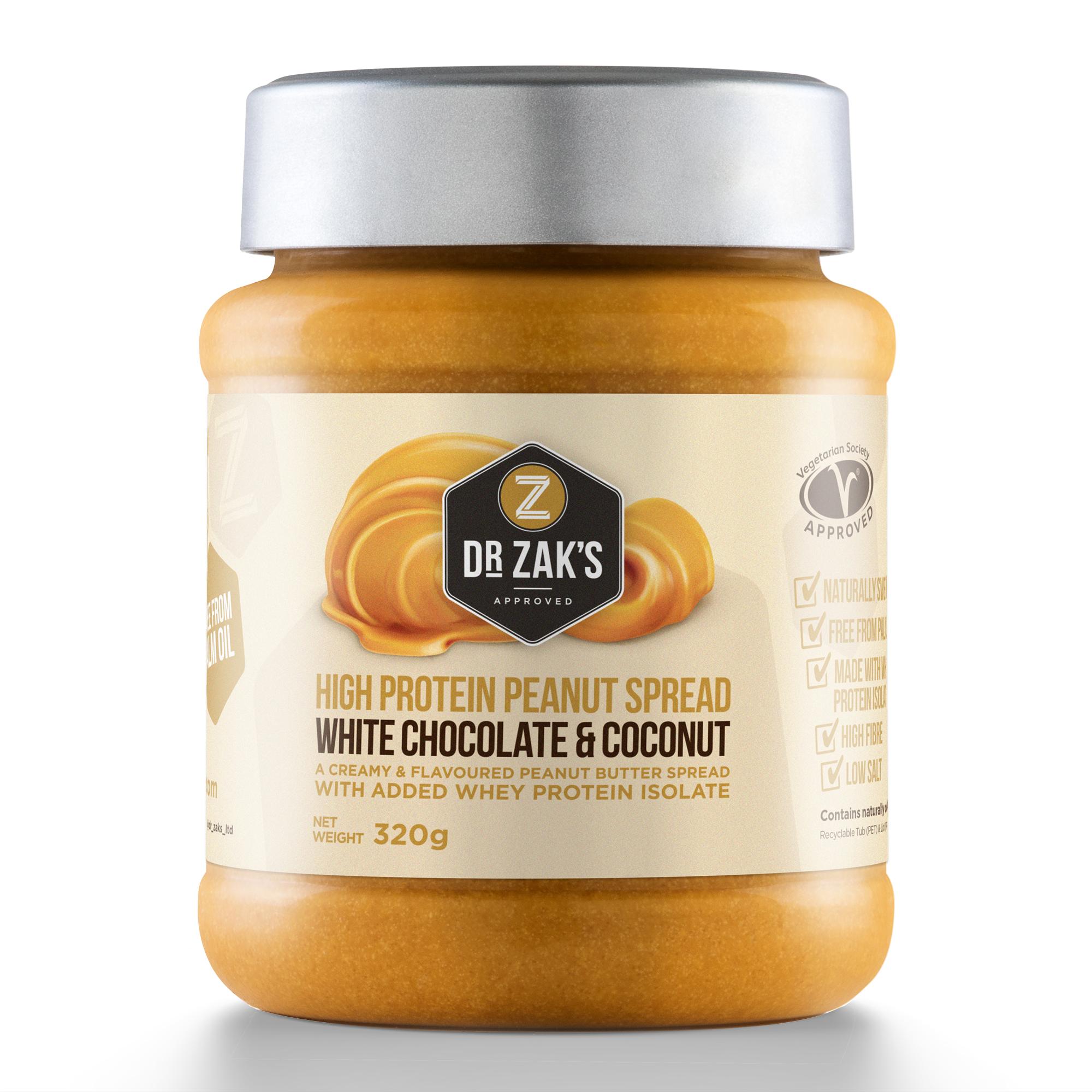 Dr Zaks High Protein Peanut Butter