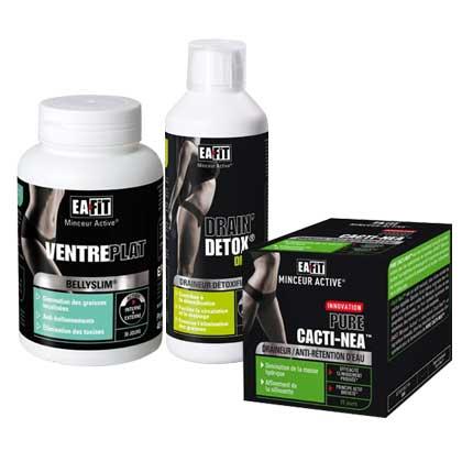 Draineur - Anticellulite - EAfit Coffret Minceur Ciblee