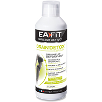 Diététique EAfit Drain Detox Drink