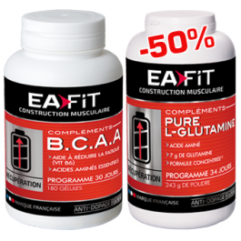 EAfit BCAA Pure Glutamine