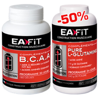 Acides aminés EAfit BCAA Pure Glutamine