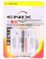 Fitness Pile Alcaline 1.5V 9.3Ah LR14 Enix - Fitnessboutique