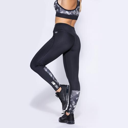 Vêtements de Sport Curve Geometrique Legging Caviar