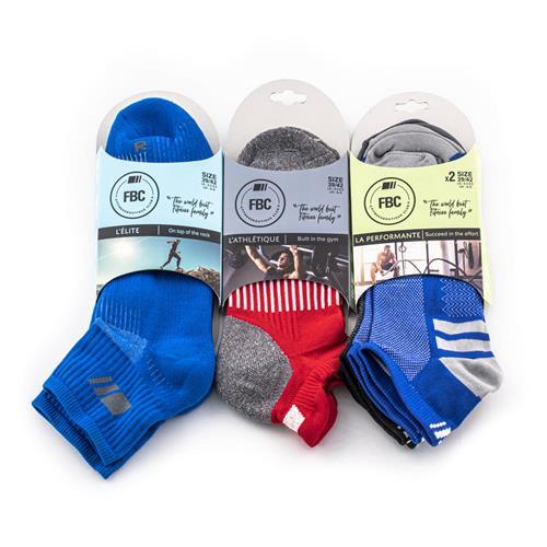 Chaussettes de sport FBC Pack Multisport - Red & Blue