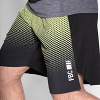 Shorts Rixe Short Charbon Vert Combat FBC - Fitnessboutique