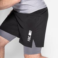 Vêtements Sprint Short Charbon Acier FBC - Fitnessboutique