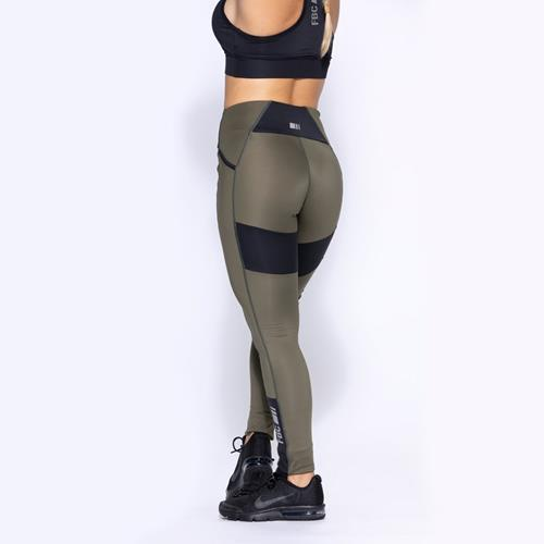 Vêtements FBC Sensation Legging Lauryn Avocat