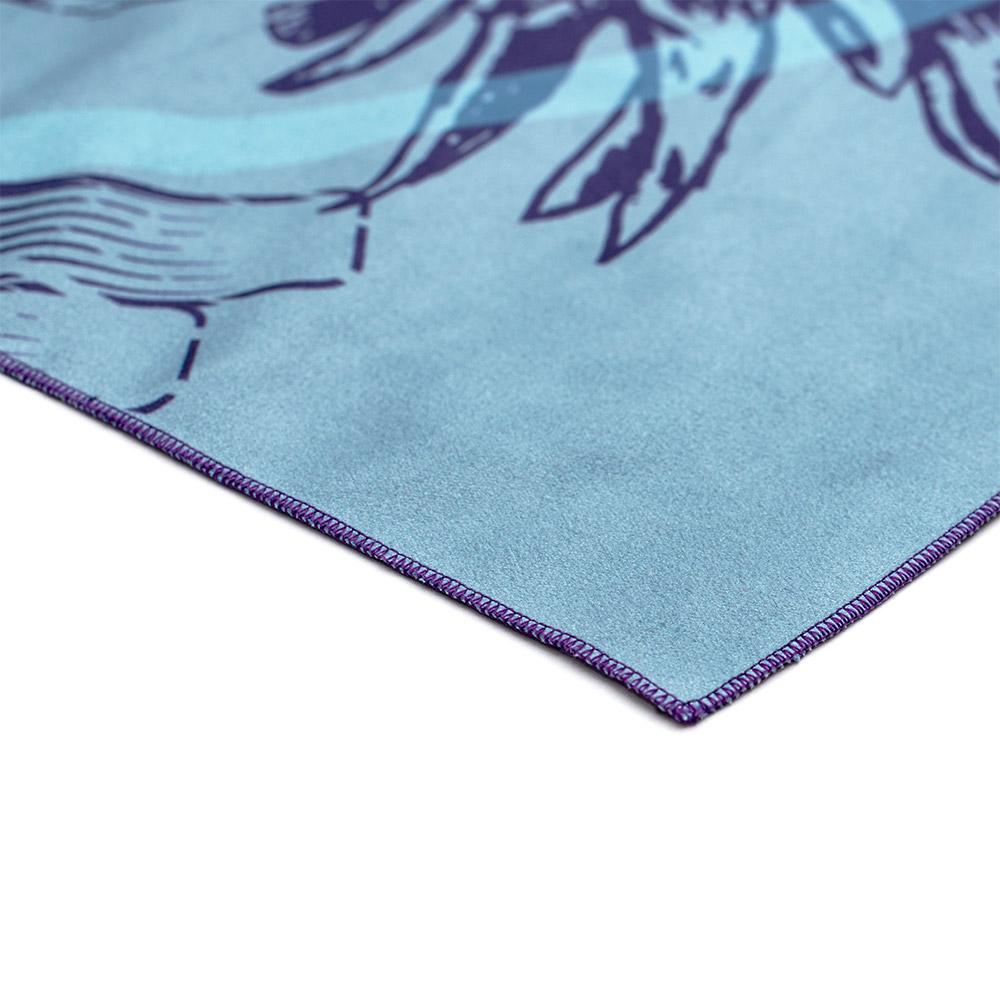 FBC IKON Serviette de Sport Tropic Blue