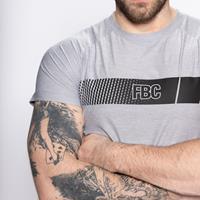 T-shirts T Shirt Force Cendre FBC - Fitnessboutique