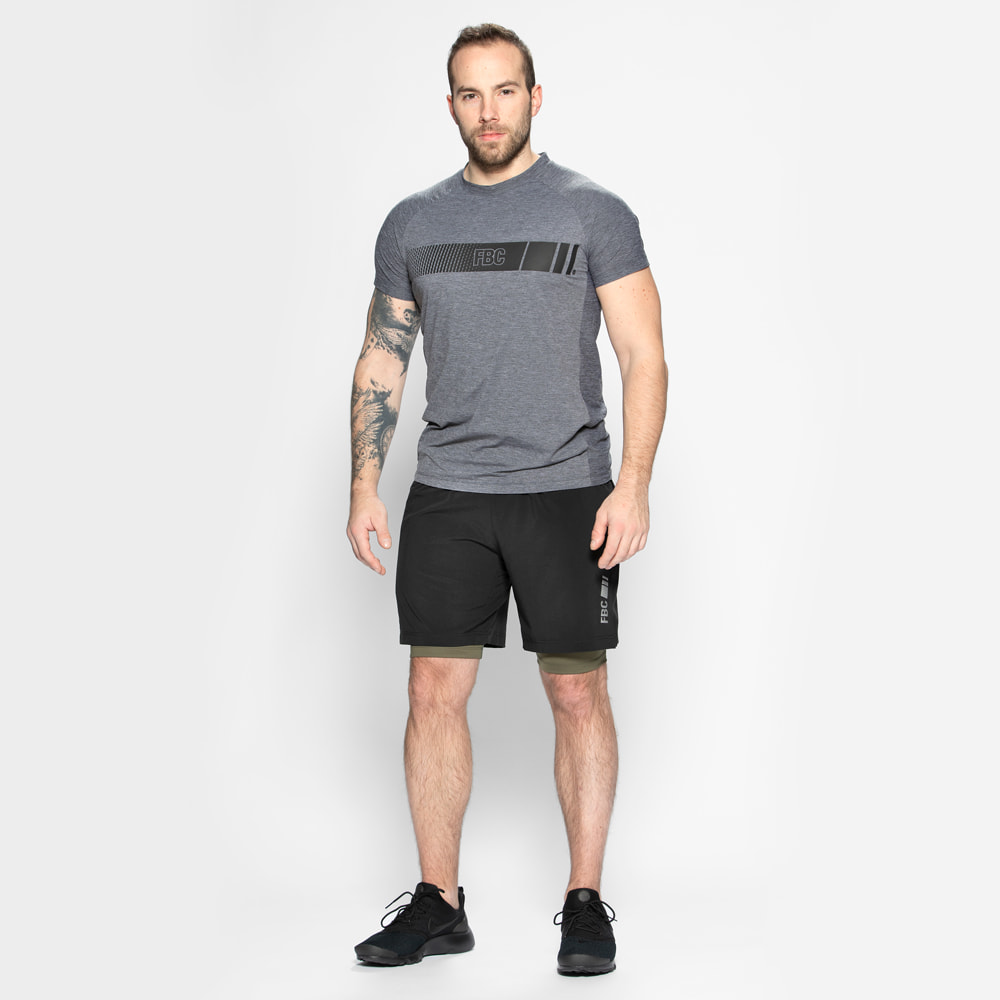 FBC T Shirt Force Dark Grey