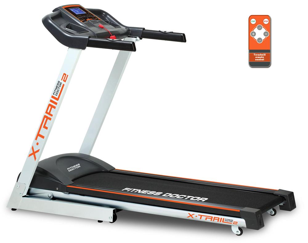 Tapis de course  Fitness Doctor X Trail 2  Noir, blanc