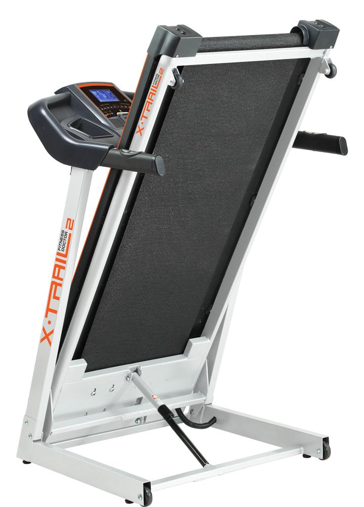 tapis de course fitness doctor x trail 2 noir blanc. Black Bedroom Furniture Sets. Home Design Ideas