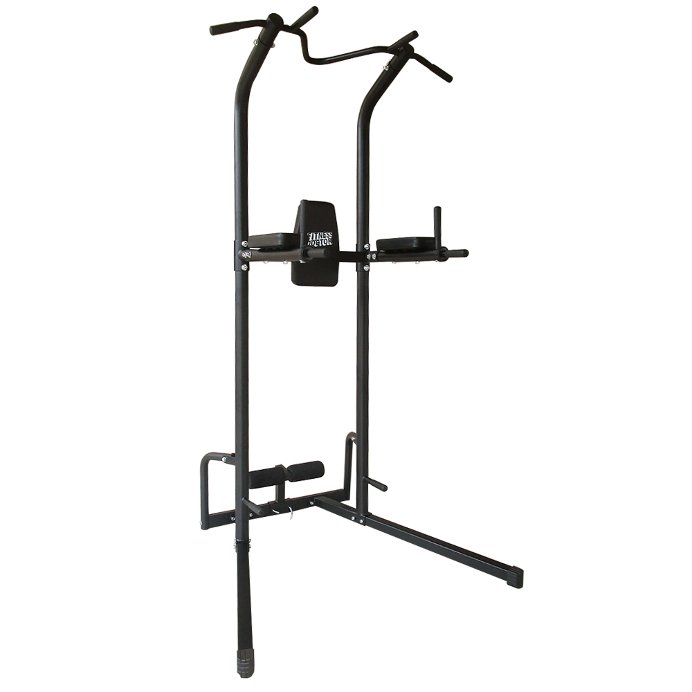 Chaise romaine fitness doctor training tower noir - Chaise romaine musculation ...