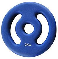 Standard - Diamètre 28mm FITNESS DOCTOR Disque Pump Poignées 2 kg