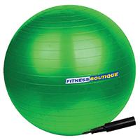 Médecine Ball et Balle lestée FITNESSBOUTIQUE Gym Ball avec pompe